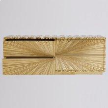 Linenfold Cabinet-Brass