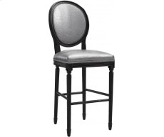 Philip Silver Croc Counter Stool Product Image