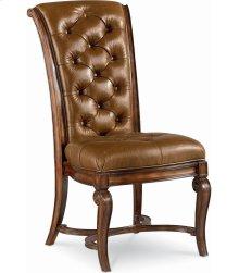 Deschanel Leather Side Chair