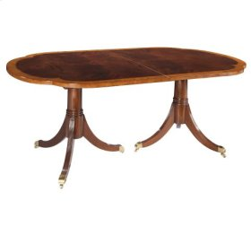 Copley Place Double Pedestal Dining Table