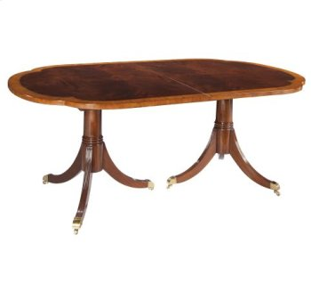 Copley Place Double Pedestal Dining Table Product Image