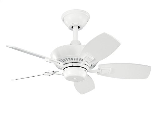 "Canfield 30"" Fan White"