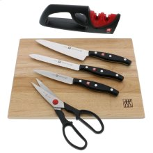 ZWILLING TWIN Signature 6-pc Knife and Cutting Board Set