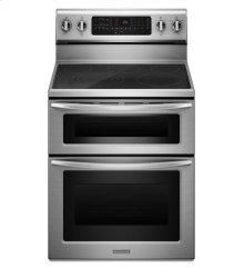 30-Inch 5-Element Electric Freestanding Double Oven Range, Architect® Series II - Stainless Steel