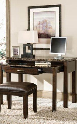 Desk/entertainment Combo W/power Plug