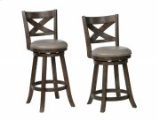 Kipper Swivel Pub Stool Grey K/d Product Image