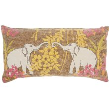 "Life Styles Gt651 Multicolor 16"" X 32"" Lumbar Pillows"