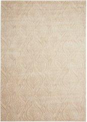 HOLLYWOOD SHIMMER KI100 BISQU RECTANGLE RUG 5'3'' x 7'5''