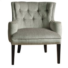 Fifth Ave Textured Silver Nailhead Chair