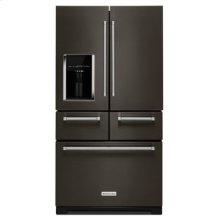 "25.8 Cu. Ft. 36"" Multi-Door Freestanding Refrigerator with Platinum Interior Design - Black Stainless (OPEN BOX CLOSEOUT)"