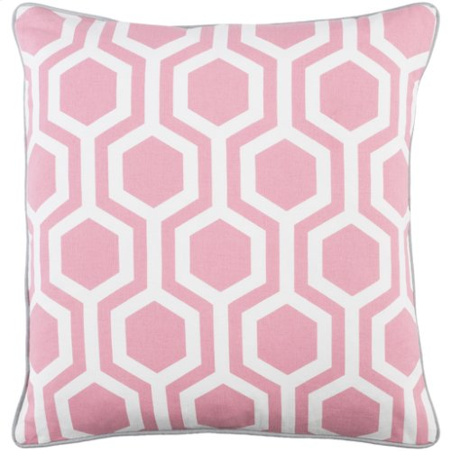 "Inga INGA-7014 18"" x 18"" Pillow Shell with Polyester Insert"
