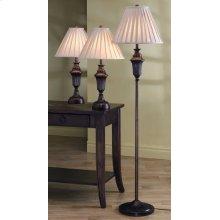 Traditional Dark Brown Lamp