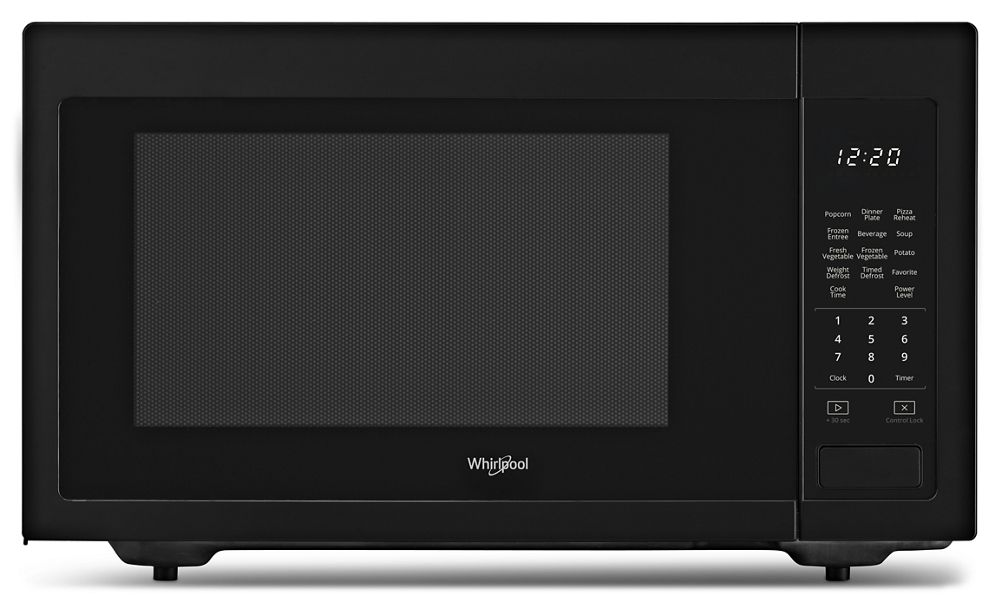 Wmc30516hb Whirlpool 1 6 Cu Ft Countertop Microwave With
