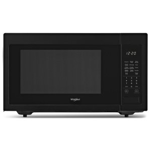 1.6 cu. ft. Countertop Microwave with 1,200-Watt Cooking Power - BLACK