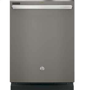 GE® Hybrid Stainless Steel Interior Dishwasher with Hidden Controls (CLEARANCE 326B)