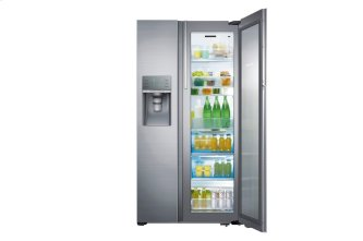 RH22H9010SR Side-by-Side Refrigerator with Food Showcase, 21.5 cu.ft