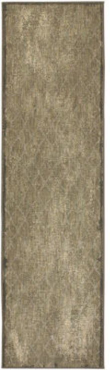 Swedish Isle by Patina Vie Platinum Runner 2ft 1in X 7ft 10in
