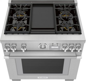 36-Inch Pro Grand™ Commercial Depth Gas Range
