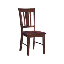 San Remo Chair in Espresso