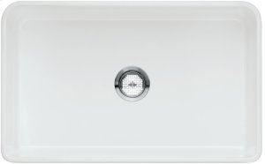 "Blanco Cerana® II 30"" Single Bowl With Apron - Crystal White Glossy"