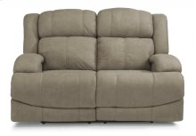Declan Fabric Power Reclining Loveseat with Power Headrests