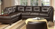 San Marino Chocolate Sectional Product Image