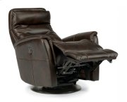 Alden Fabric Queen Power Swivel Gliding Recliner Product Image