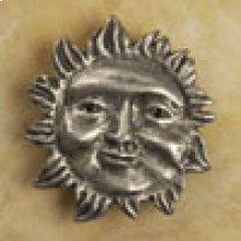 Wavy Ray Sun Knob