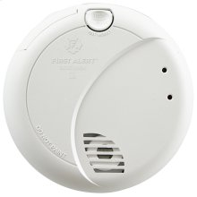 Hardwired Photoelectric Smoke Alarm with Battery Backup