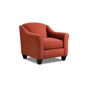 American Furniture Manufacturing1020 - Popstitch Rust Accent Chair