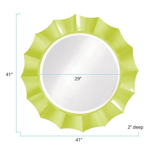 Corona Mirror - Glossy Green