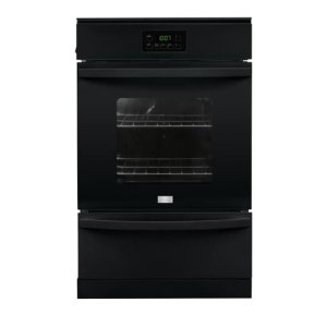 24'' Single Gas Wall Oven - BLACK