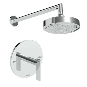 French-Gold-PVD Balanced Pressure Shower Trim Set