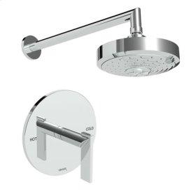 Oil Rubbed Bronze - Hand Relieved Balanced Pressure Shower Trim Set