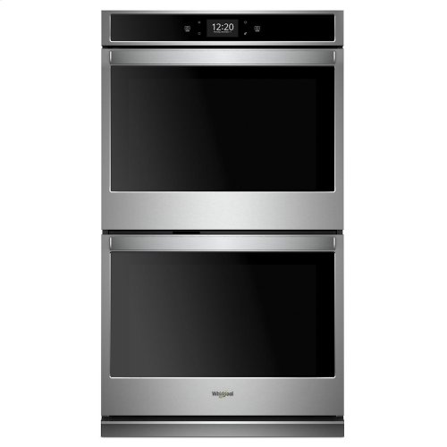 8.6 cu. ft. Smart Double Wall Oven with True Convection Cooking