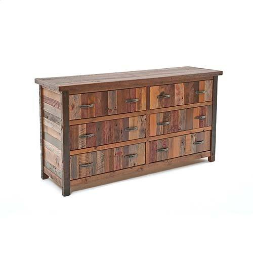 Back To the Barn - 6 Drawer Dresser