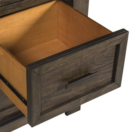 Queen Two Sided Storage Bed, Dresser & Mirror, Chest, NS