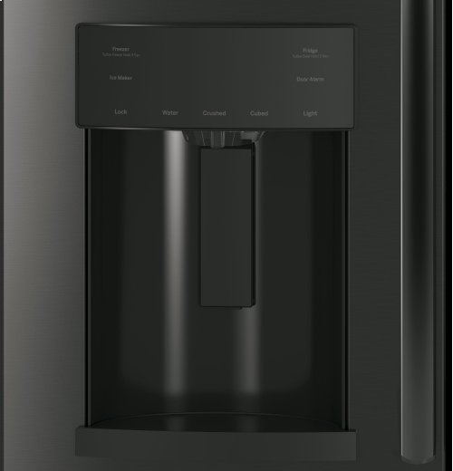 GE Black Stainless Steel 4 Piece French Door Kitchen Package