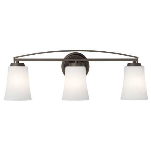 Tao 3 Light Vanity Light Olde Bronze®