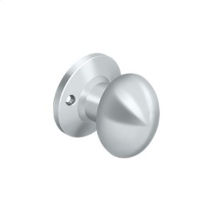 Egg Knob Trimkit - Polished Chrome