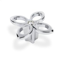 Crystal Knob Flower Design