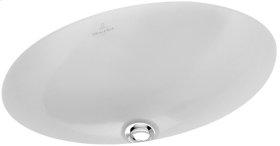 Undercounter washbasin (oval) Oval - White Alpin