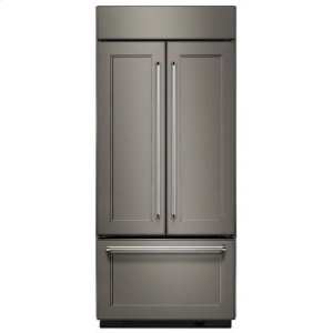 """Kitchenaid 20.8 Cu. Ft. 36"""" Width Built In Panel Ready French Door Refrigerator"""