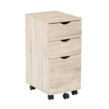 Lois File Cabinet In Light Driftwood Finish