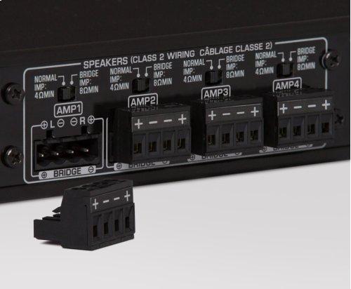 Multi-Room Amplifier (4 Zone, 8 Channel)
