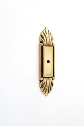 Fiore Backplate A1475 - Polished Antique