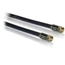Quad shield cable