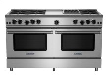"""60"""" RNB Series Range with 12"""" Griddle & Charbroiler"""