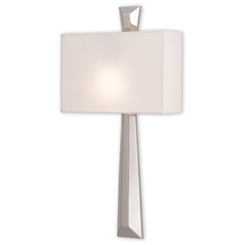 Arno Nickel Wall Sconce