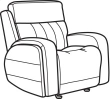 Danvers Leather Power Gliding Recliner with Power Headrest